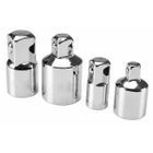 """4-piece Socket Adapter Set, 1/4"""", 3/8"""" and 1/2"""" Drive"""