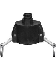 "2"" Female Camlock to 3/4"" NHR Garden Hose Adapter"