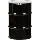 """30 Gallon Steel Drum, UN Rated, Lined, Cover w/Bolt Ring Closure, 2"""" & 3/4"""" Fittings"""