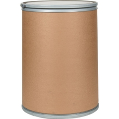 "30 Gallon Fiber Drum, Steel Cover w/Lever Lock Ring (18.5"" x 26"")"