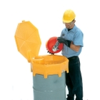 Global Drum Funnel with Hinged Cover & Spout  - UltraTech 0499