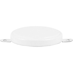 "2"" Tite-Seal White Steel Capseal, Corner Gasket"