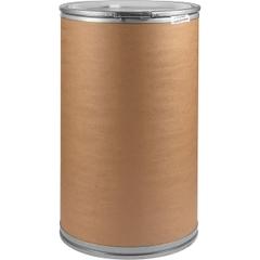 "55 Gallon Liquid-pak Fiber Drum with 2"" and 3/4"" Fittings, 550 Lb Capacity"