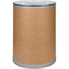 "55 Gallon Liquid-pak Fiber Drum with 2"" and 3/4"" Fittings, 600 Lb Capacity"