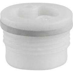 """3/4"""" Tri-Sure® Nylon Drum Plug with Skirt, EPDM Gasket"""