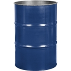 55 Gallon Arco Blue Steel Drum, Reconditioned (No Cover)
