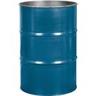 55 Gallon Chevron Blue Steel Drum, Reconditioned (No Cover)