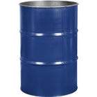 55 Gallon McWhorter Blue Steel Drum, Reconditioned (No Cover)
