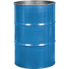 55 Gallon PPG Blue Steel Drum, Reconditioned (No Cover)