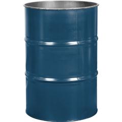 55 Gallon Superior Blue Steel Drum, Reconditioned (No Cover)