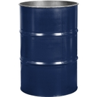 55 Gallon Valvoline Blue Steel Drum, Reconditioned (No Cover)