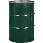 55 Gallon National Starch Green Steel Drum, Reconditioned (No Cover)