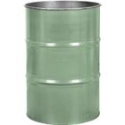 55 Gallon Superior Green Steel Drum, Reconditioned (No Cover)