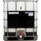 """275 Gallon Recon IBC Tote with 2"""" Camlock Valve, Steel Pallet"""