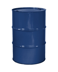 """55 Gallon Arco Blue Tight Head Steel Drum, Reconditioned, UN Rated, 2"""" & 3/4"""" Fittings, Unlined"""