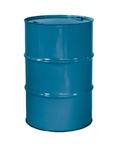 """55 Gallon Ashland Blue Tight Head Steel Drum, Reconditioned, UN Rated, 2"""" & 3/4"""" Fittings, Unlined"""