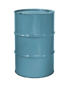 """55 Gallon Light Blue Tight Head Steel Drum, Reconditioned, UN Rated, 2"""" & 3/4"""" Fittings, Unlined"""