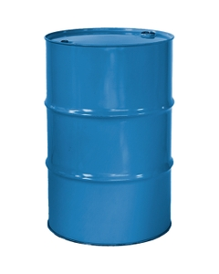 """55 Gallon PPG Blue Tight Head Steel Drum, Reconditioned, UN Rated, 2"""" & 3/4"""" Fittings, Unlined"""