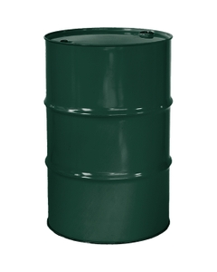 """55 Gallon National Starch Green Tight Head Steel Drum, Reconditioned, UN Rated, 2"""" & 3/4"""" Fittings, Unlined"""