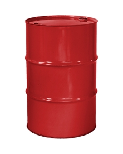 """55 Gallon Shell Red Tight Head Steel Drum, Reconditioned, UN Rated, 2"""" & 3/4"""" Fittings, Unlined"""