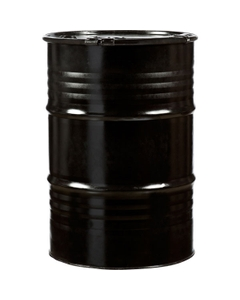 55 Gallon Steel Drum, Reconditioned, Cover w/Lever Lock Ring Closure