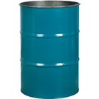 55 Gallon Blue Steel Drum, Reconditioned (No Cover)
