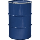 """55 Gallon Arco Blue Steel Drum, Reconditioned, Unlined, Cover w/Lever Lock Ring, 2"""" & 3/4"""" Fittings"""