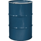 """55 Gallon Superior Blue Steel Drum, Reconditioned, Unlined, Cover w/Lever Lock Ring, 2"""" & 3/4"""" Fittings"""