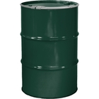 """55 Gallon National Starch Green Steel Drum, Reconditioned, Unlined, Cover w/Lever Lock Ring, 2"""" & 3/4"""" Fittings"""