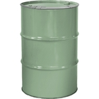 """55 Gallon Superior Green Steel Drum, Reconditioned, Unlined, Cover w/Lever Lock Ring, 2"""" & 3/4"""" Fittings"""