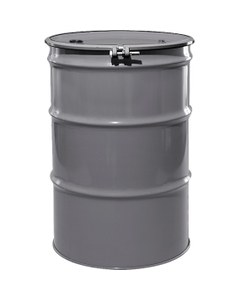 """55 Gallon Sungray Steel Drum, Reconditioned, UN-Rated, Lined, Cover w/Bolt Ring, 2"""" & 3/4"""" Fittings"""