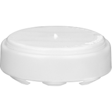 """3/4"""" Round Head White Snapseal T All-Plastic Capseal"""