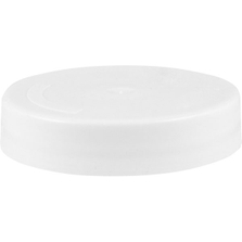 """2"""" SnapSeal® U-2 White Plastic Capseal for Mauser Poly-Drums"""