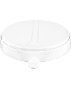 """Tri-Sure 2"""" White Push-lock Plastic Capseal"""
