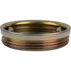 "2"" Tri-Sure® Zinc Plated Steel Drum Plug, Poly Irradiated Gasket"