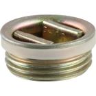 "3/4"" Tri-Sure® Zinc Plated Steel Drum Plug, Poly Irradiated Gasket"