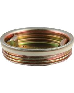 """2"""" Tri-Sure® Zinc Plated Steel Drum Plug, EPDM Gasket"""