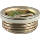 """3/4"""" Tri-Sure® Zinc Plated Steel Drum Plug, EPDM Gasket"""