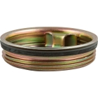 "2"" Tri-Sure® Zinc Plated Steel Drum Plug, BUNA Gasket"