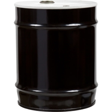 """10 Gallon Tight Head Steel Drum, UN Rated, 2"""" & 3/4"""" Fittings, Lined"""