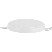 """2"""" White Steel Capseal with Side Gasket"""