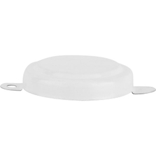 """3/4"""" White Steel Capseal with Side Gasket"""