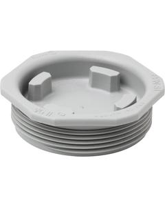 "2"" Rieke Visegrip II Nylon Drum Plug, Poly-Irradiated Gasket"