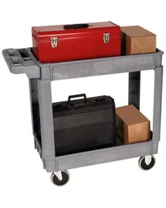 "16"" x 30"" Deluxe Plastic Service Cart, 550 lb. Capacity"