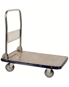 """22.5"""" x 34"""" Stainless Steel Folding Handle Truck, 770 lb. Capacity"""