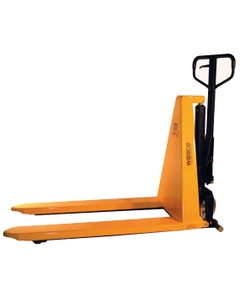 "Manual High Lift Pallet Jack, 27"" x 44.5"" (2,200 lbs.)"
