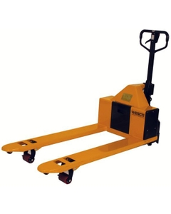 "Semi-Electric Pallet Jack, 20.5"" x 48"" (2,200 lbs.)"