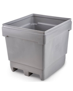 MonsterCombo® 2845, 296 Gallon Bin, 2-Way Molded Base (Gray)
