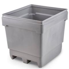 MonsterCombo® 2848, 318 Gallon Bin, 2-Way Molded Base (Gray)