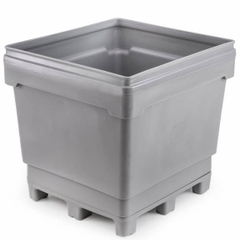 MonsterCombo® 2948, 318 Gallon Bin, 4-Way Replaceable Base (Gray)